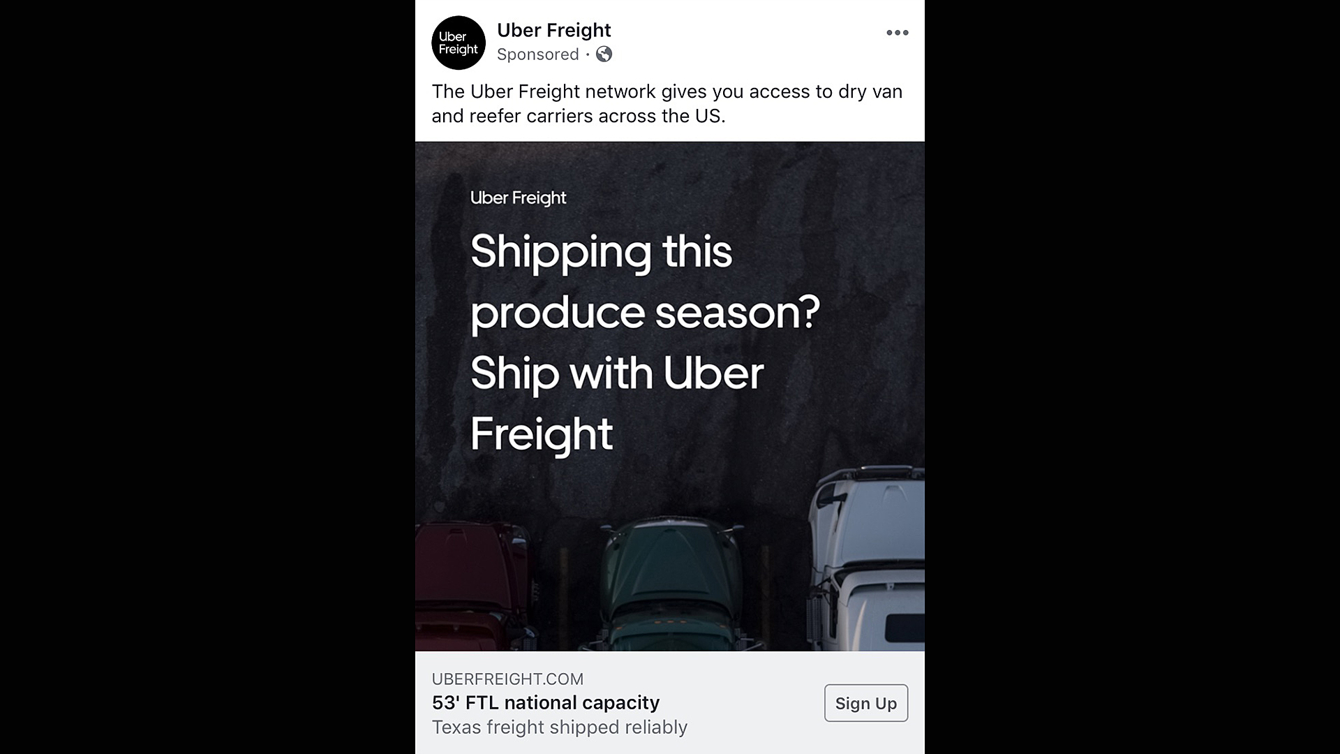 We have to keep an eye on Uber Freight – Produce Blue Book