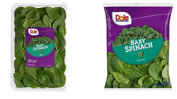 Dole recalls baby spinach that could be tainted with salmonella