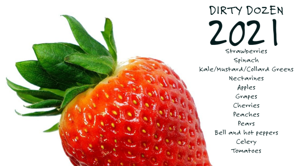 dirty dozen strawberry