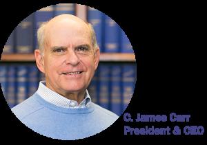 C. James Carr - Blue Book Services
